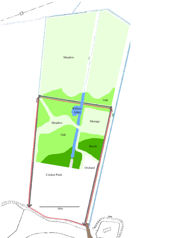 24 Acres - Woodland Planting Plan