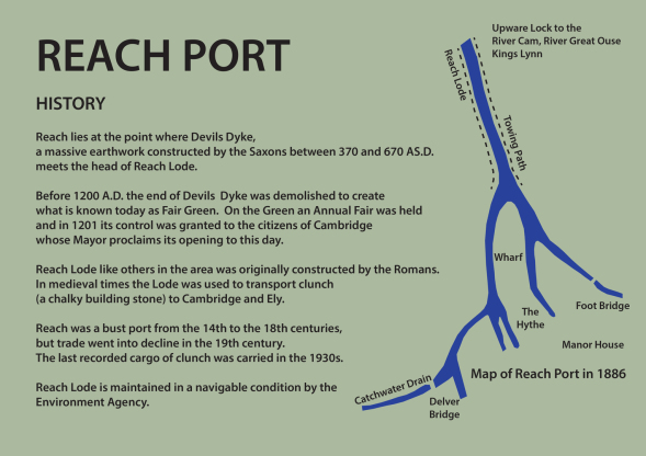 Map of Historic Reach Port