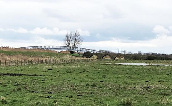 View of Reach Lode Bridge